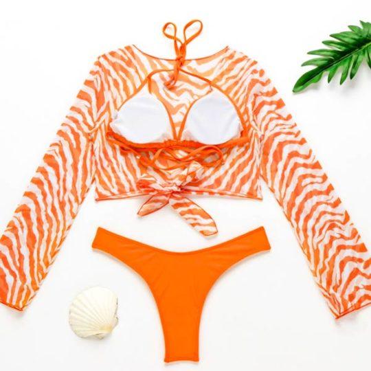 3-piece-driedelig-bikiniset-broekje-bikinitop-blouse-oranje-back-movastyling