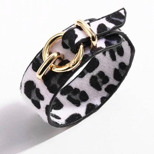 armband-luipaardprint-zwart-wit-grijs-goudengesp-leopardprint-blackandwhite-animailprint-bracelet-dierenprint-mixandmatch-movastyling