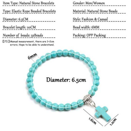 armband-turquoise-naturelstone-kruisje-bedelarmband-size-movastyling