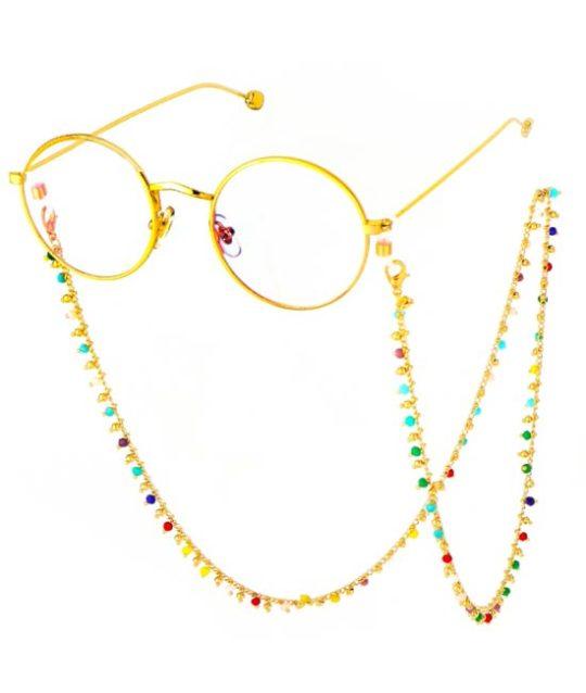 brillenkoord-bohemian-kraaltjes-ibiza-regenboog-goudkleur-eyewear-cord-movastyling