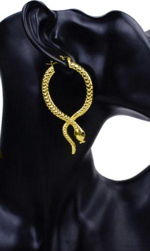 creool-oorringen-earring-snake-slang-gold-goudkleur-movastyling