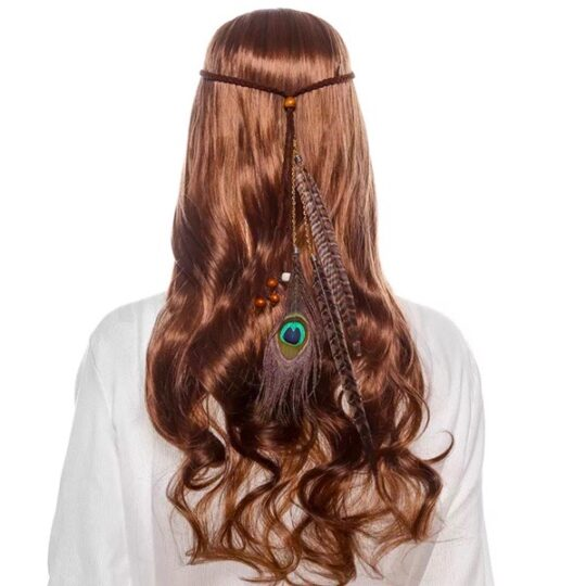 haarband-bohemian-pauwveer-veren-bruin-movastyling