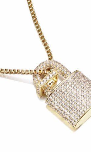 ketting-goud-slotje-geld-golden-locker-strass-zirconia-necklace-movastyling