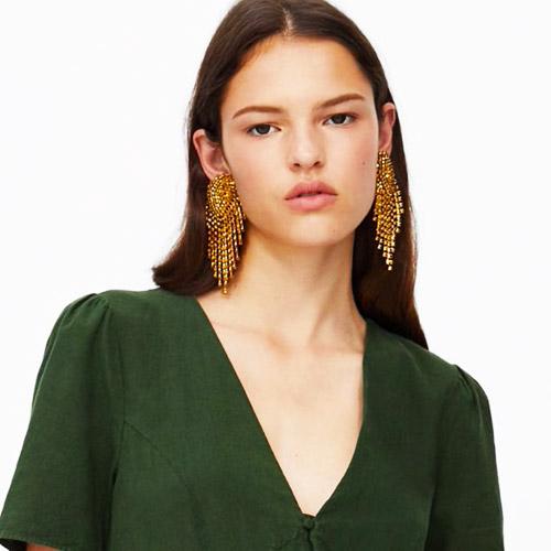 oorbellen-earrings-dazzling-strass-zirconia-gold-green-groen-goud-model-movastyling