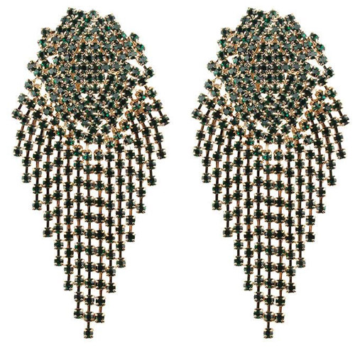 oorbellen-earrings-dazzling-strass-zirconia-gold-green-groen-goud-movastyling