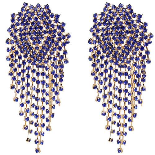 oorbellen-earrings-dazzling-strass-zirconia-kingblue-gold-koningsblauw-goud-chique-movastyling