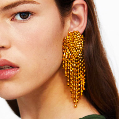 oorbellen-earrings-dazzling-strass-zirconia-turquoise-gold-turquoise-goud-chique-model-movastyling