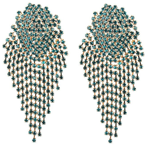 oorbellen-earrings-dazzling-strass-zirconia-turquoise-gold-turquoise-goud-party-chique-movastyling