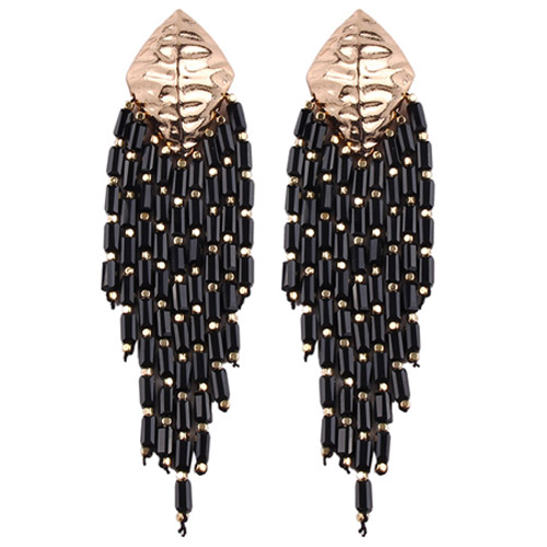 oorbellen-earringset-sieraden-bijoux-shell-drop-earrings-schelp-goudkleur-gold-zwart-black-movastyling