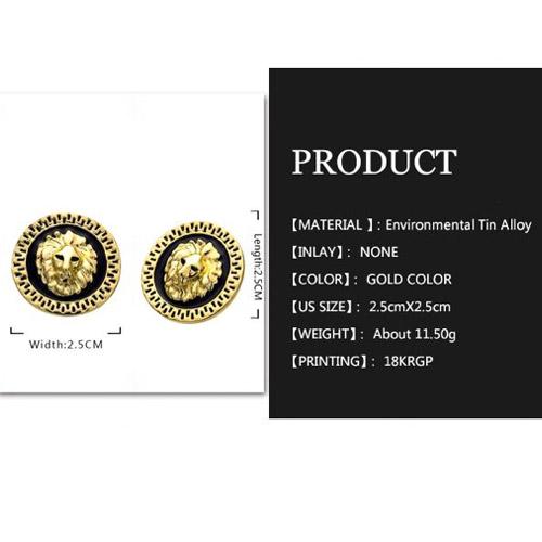 oorbellen-leeuwenkop-robuust-zwart-goud-barok-oorknop-lionhead-earringset-black-gold-versace-ingoldwetrust-size-table-movastyling